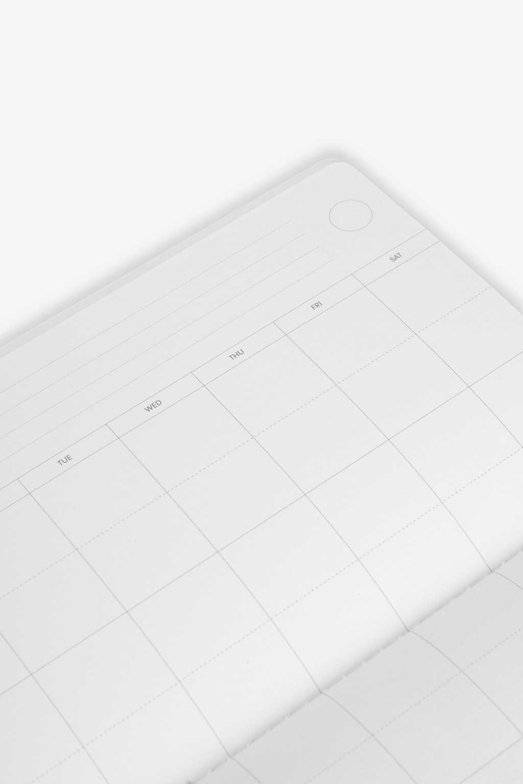 White Calendar 2421 White 3