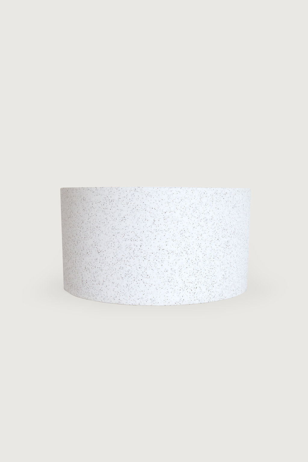 Wide Ceramic Planter 2947 White Speckeled 5