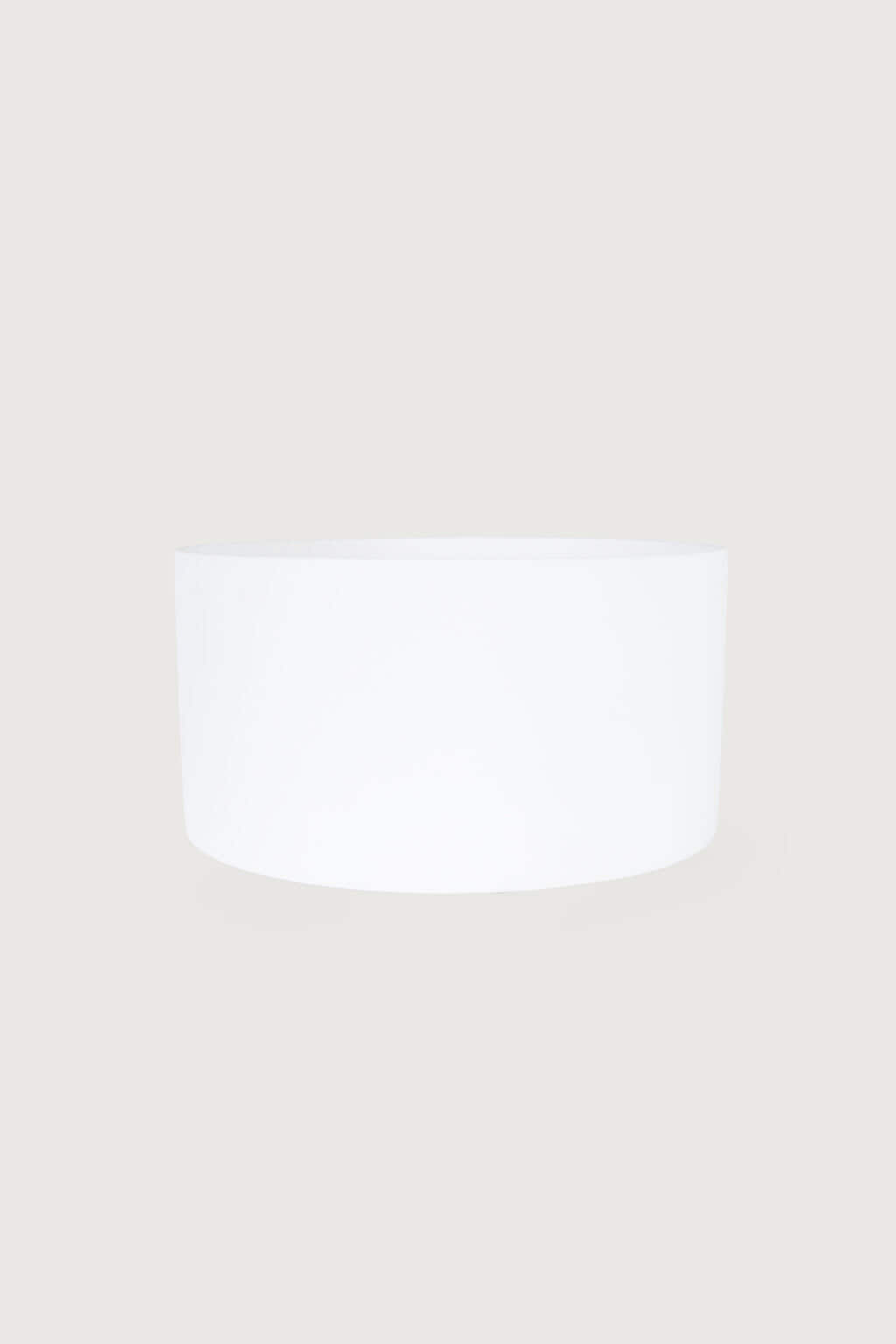 Wide Ceramic Planter 2947 White 3