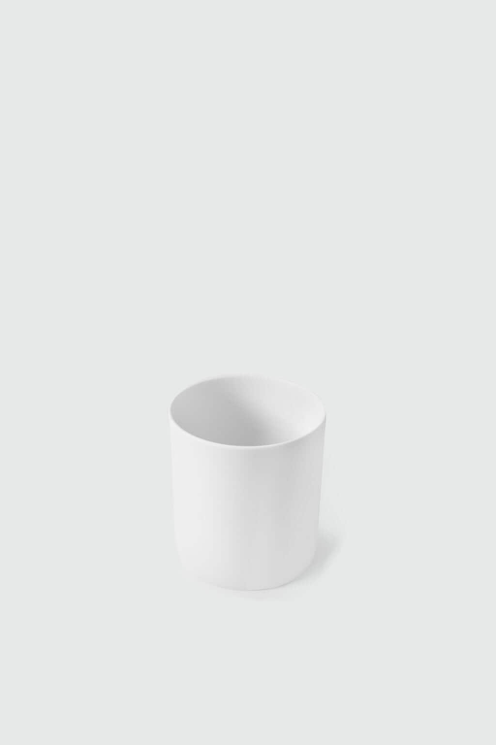 Wide Porcelain Cup 2940 White 3