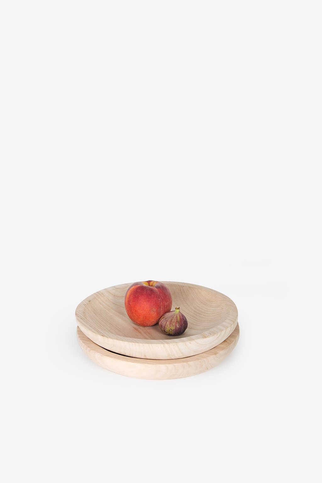 Wooden Dish 1034 Tan 3