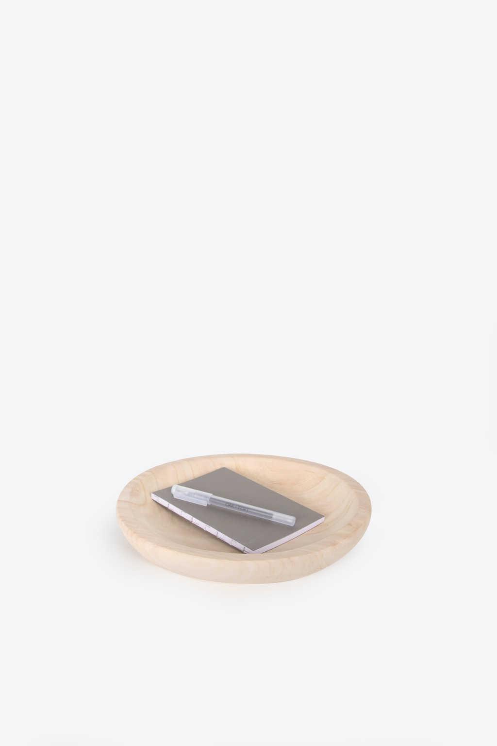 Wooden Dish 1034 Tan 4