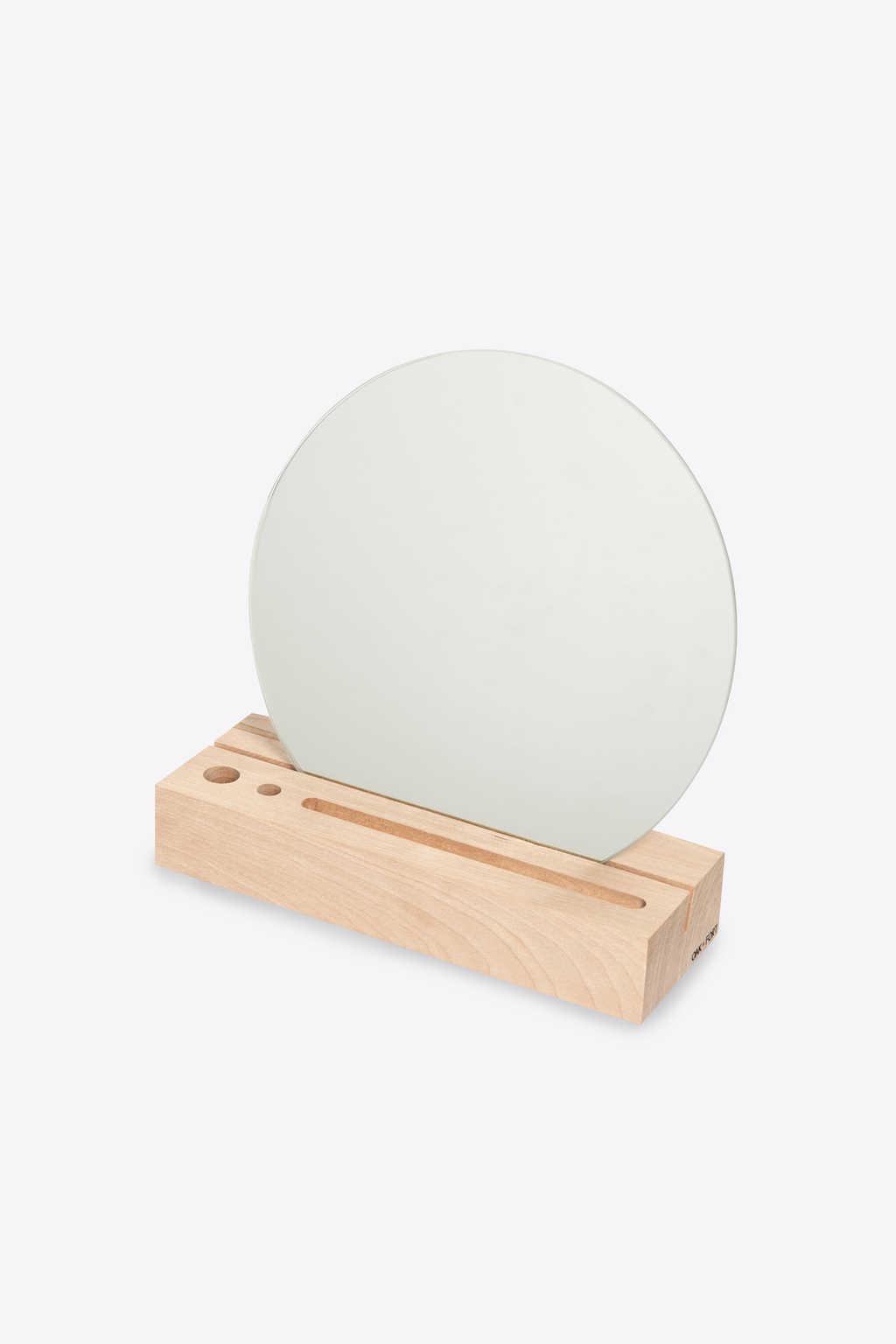 Wooden Mirror Stand 2901 Beige 2
