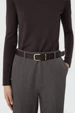 Belt J017 Brown 1