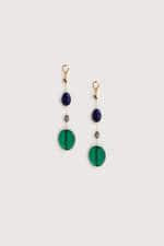 Earring K010 Green 3