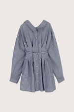 Shirt Dress J005 Gray 7