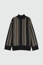 Sweater 2924 Black Stripe 9