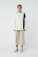 Sweatshirt 3385 Cream 1