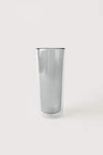 Tall Glass Cup 3339 Gray 3