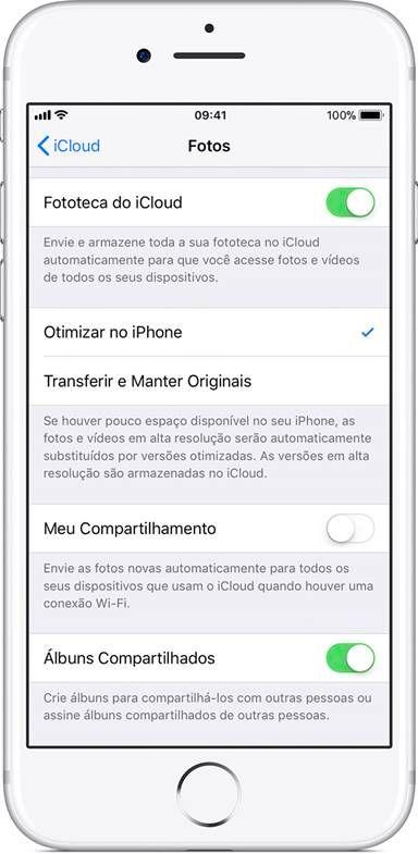 [Fototeca do iCloud] Como salvar suas fotos e vídeos do iPhone na nuvem