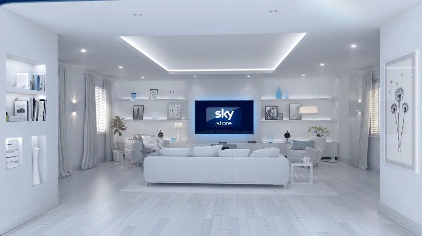 Sky Store Ident