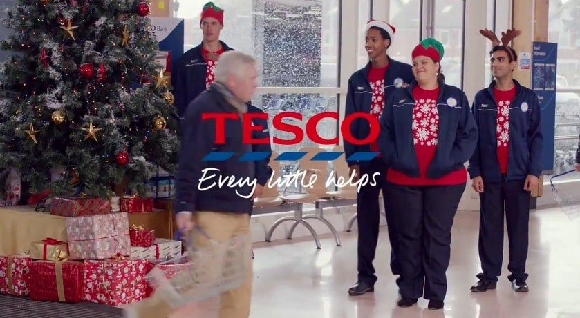 Tesco Christmas - Tesco Bespoke Composition