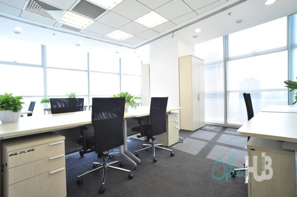 6 Person Private Office For Lease At 91 Jianguo Road, Chaoyang, Beijing, 100124 - image 1