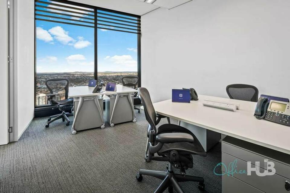 1 Person Coworking Office For Lease At 111 Eagle Street, Brisbane, QLD, 4000 - image 1