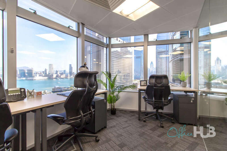 1 Person Private Office For Lease At 199 Des Voeux Road Central, Sheung Wan, Hong Kong Island, Hong Kong, - image 1