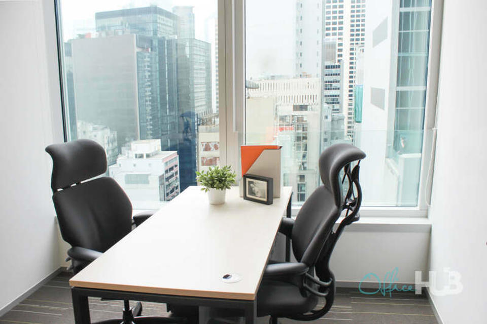 2 Person Private Office For Lease At 68 Des Voeux Road Central, Central, Hong Kong Island, Hong Kong, - image 1