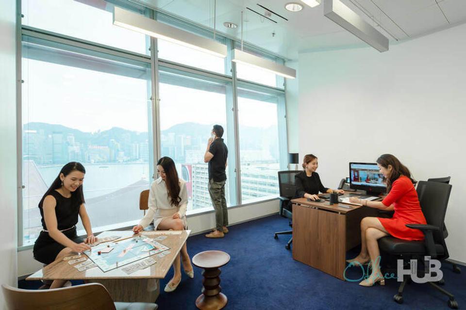 1 Person Coworking Office For Lease At 1 Peking Road, Tsim Sha Tsui, Kowloon, Hong Kong, - image 1
