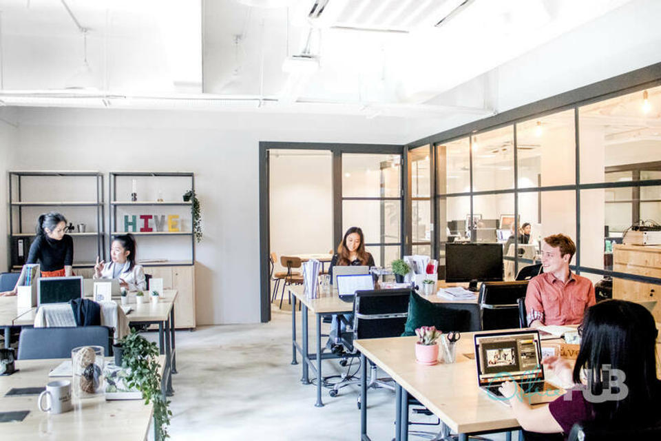 2 Person Coworking Office For Lease At Smithfield Road, Kennedy Town, Hong Kong, Hong Kong, - image 2