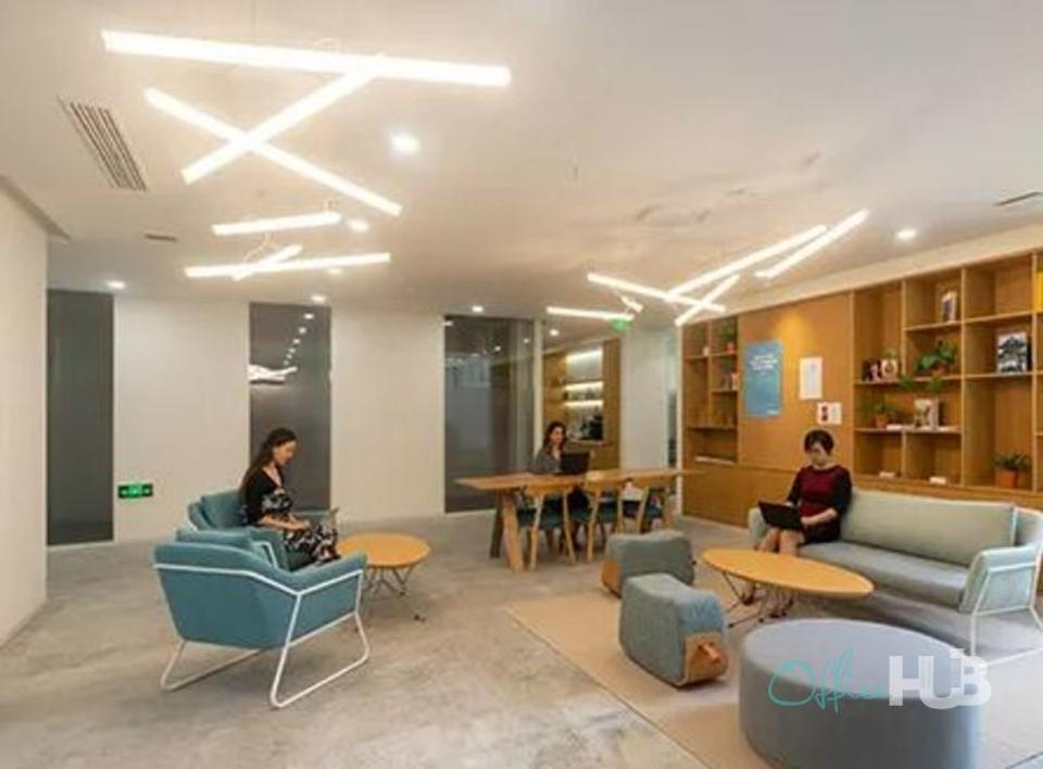 3 Person Coworking Office For Lease At South Xizang Road, Huangpu District, Shanghai, 200010 - image 2