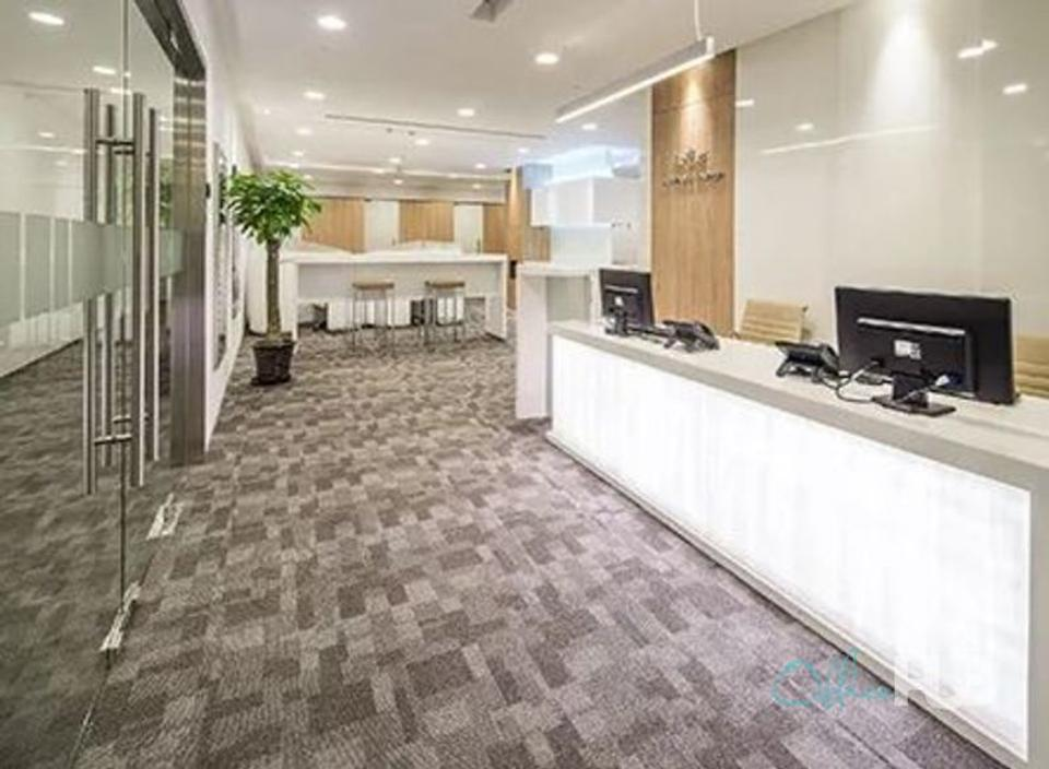 16 Person Private Office For Lease At 8 Xingyi Road, Changing District, Shanghai, 200336 - image 1