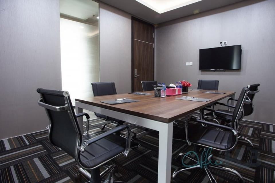 8 Person Private Office For Lease At 86 Jl. Jend. Sudirman, Central Jakarta, Jakarta, 10220 - image 1