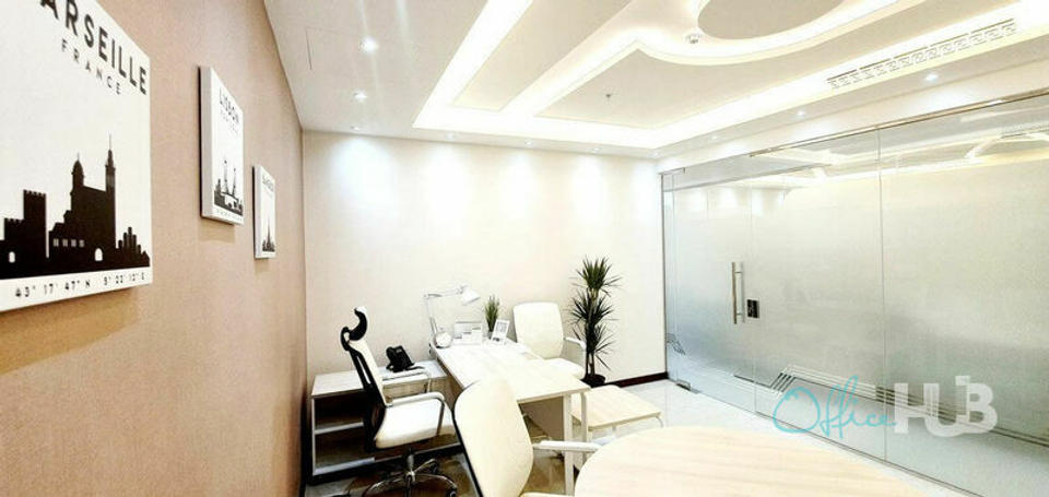 5 Person Private Office For Lease At 1 Happiness Street, Dubai, Business Bay, 00000 - image 2