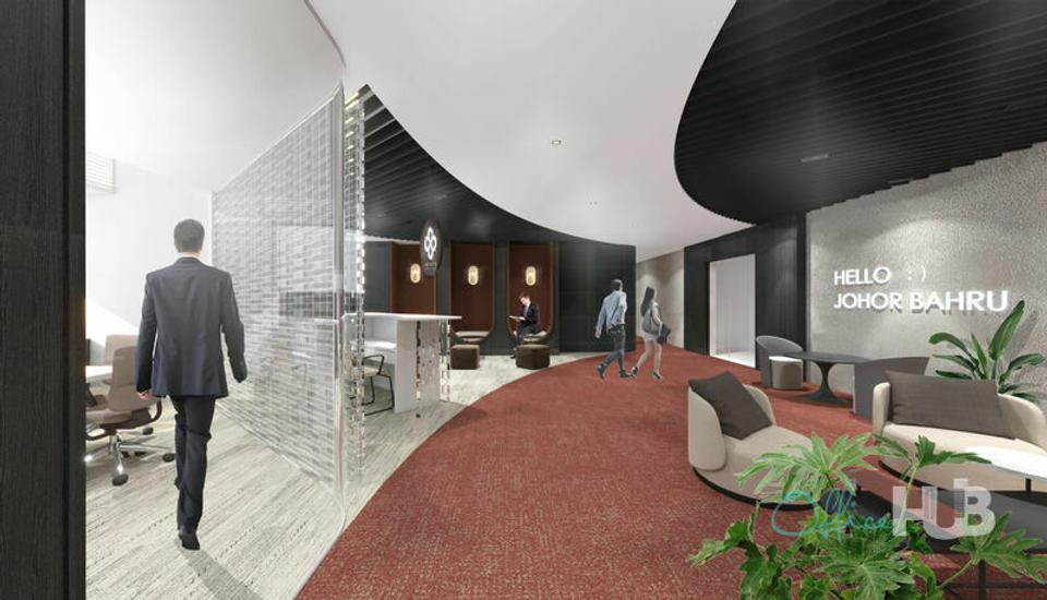 1 Person Coworking Office For Lease At Menara JLand, Johor Bahru City Centre, Jalan Tun Abdul Razak,, Johor Bahru, Johor, 80000 - image 2