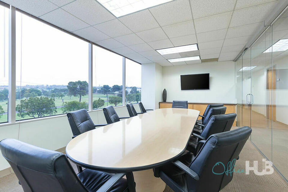 2 Person Coworking Office For Lease At 400 Corporate Pointe, Culver City, CA, 90230 - image 2
