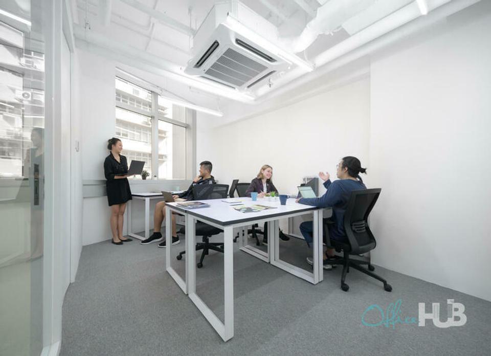 6 Person Private Office For Lease At 50 Bonham Strand, Sheung Wan, Hong Kong Island, - image 1