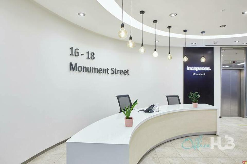 65 Person Sublet Office For Lease At 16-18 Monument Street, Candlewick, London, EC3R 8AJ - image 3