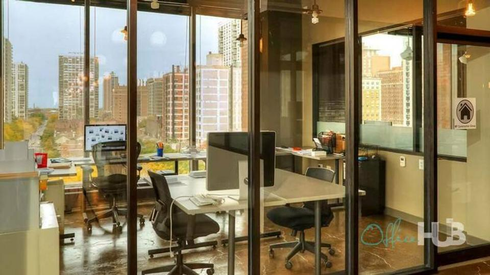 7 Person Private Office For Lease At 1165 N Clark St., Chicago, IL, 60610 - image 2