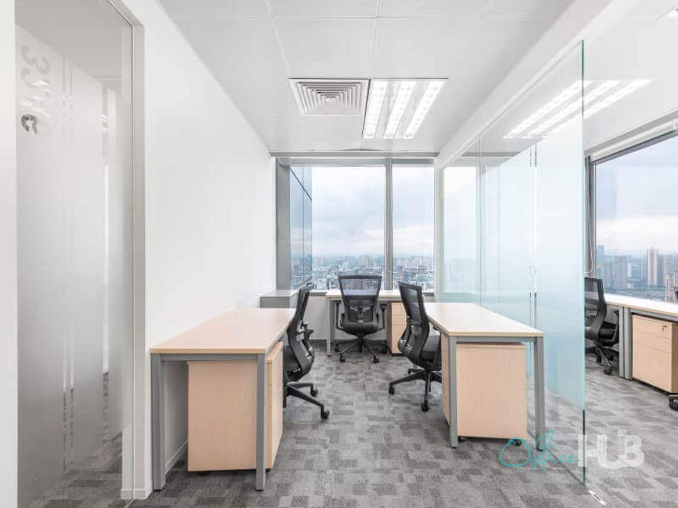 4 Person Private Office For Lease At 10 Shuangqing Road, Chengdu, Sichuan, 610056 - image 2