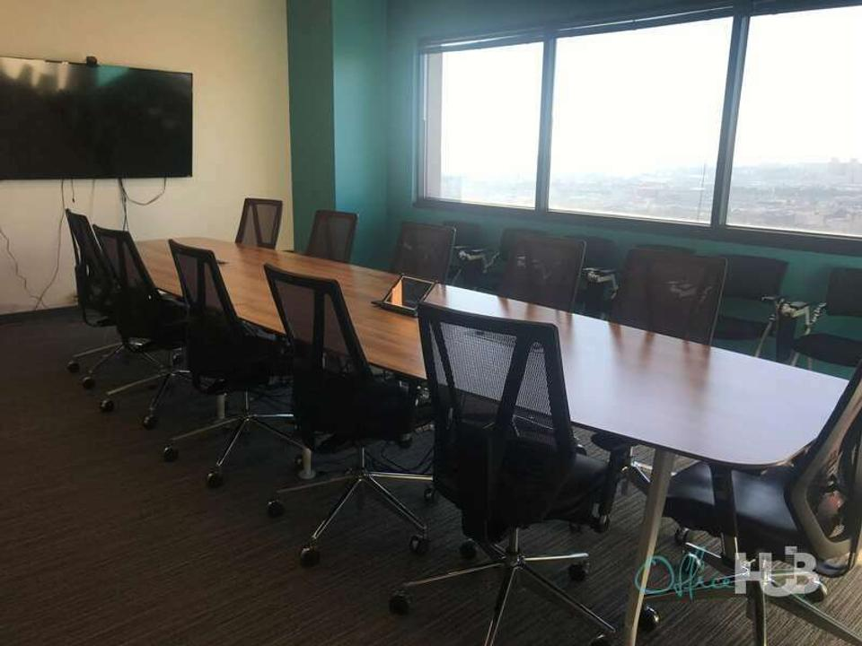 10 Person Private Office For Lease At 95 Christopher Columbus Drive, Jersey City, New Jersey, 07302 - image 1