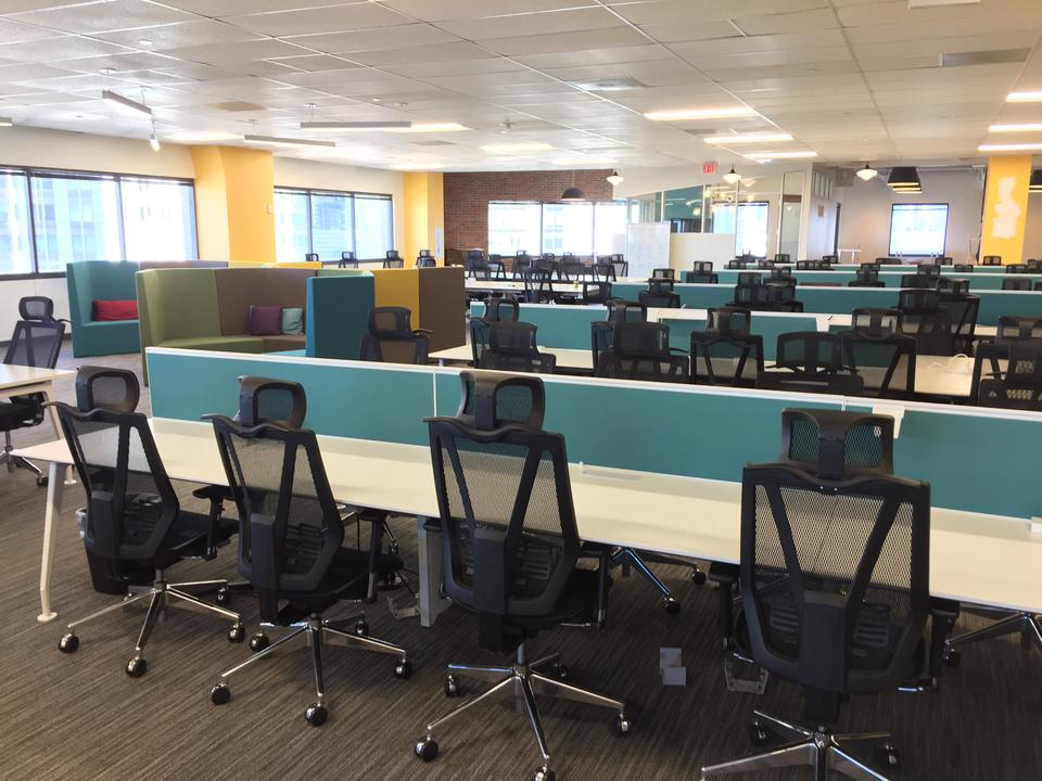 10 Person Private Office For Lease At 95 Christopher Columbus Drive, Jersey City, New Jersey, 07302 - image 3