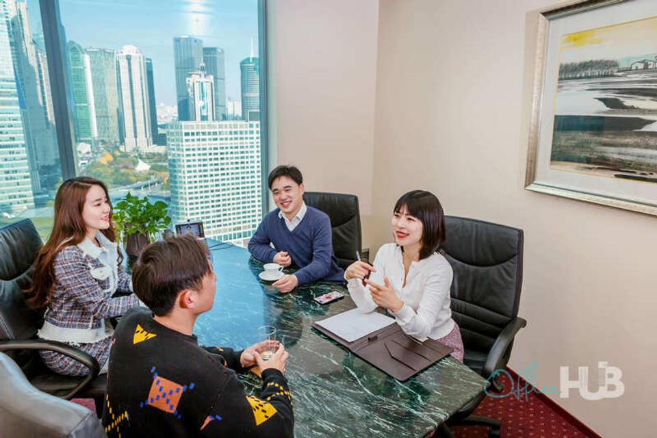 1 Person Coworking Office For Lease At No.33 Hua Yuan Shi Qiao Lu, Lu Jia Zui, Shanghai Shi, 200120 - image 2