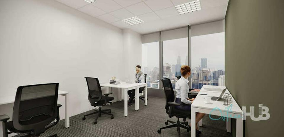 2 Person Private Office For Lease At Persiaran TRX, Tun Razak Exchange, Kuala Lumpur, Wilayah Persekutuan, 55188 - image 2