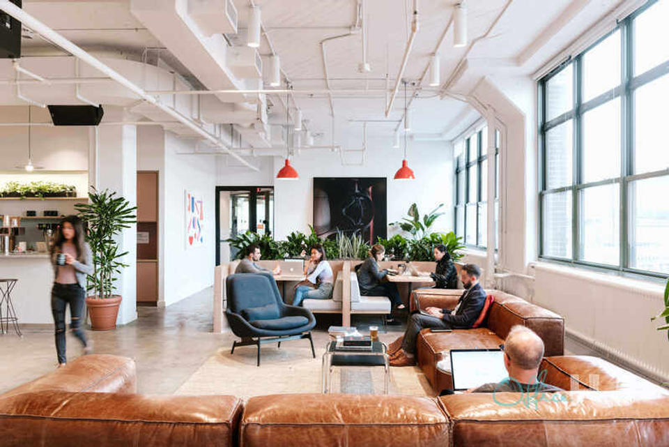 4 Person Private Office For Lease At 205 Hudson St, New York, NY, 10013 - image 3