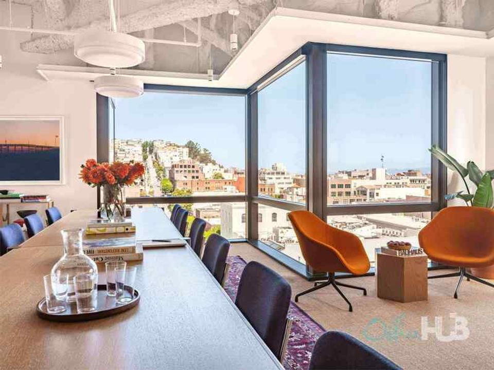 2 Person Private Office For Lease At 655 Montgomery Street, San Francisco, California, 94111 - image 1