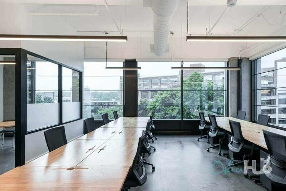 10 Person Private Office For Lease At 725 Ponce De Leon Ave NE, Atlanta, Georgia, 30306 - image 1
