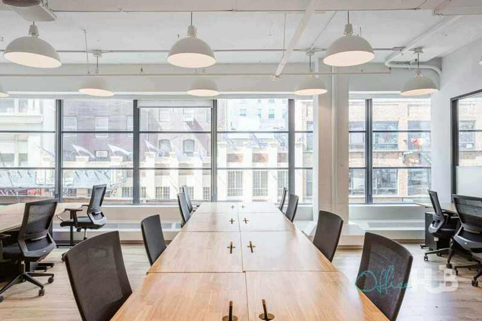 12 Person Private Office For Lease At 980 6th Avenue, New York, New York, 10018 - image 2