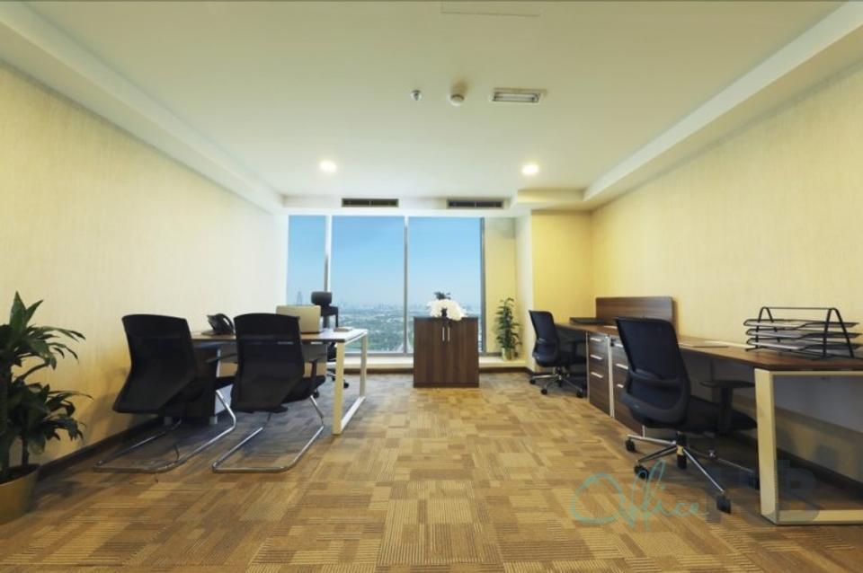 4 Person Private Office For Lease At 1 Sheikh Zayed Road, Dubai, Dubai, 128034 - image 1