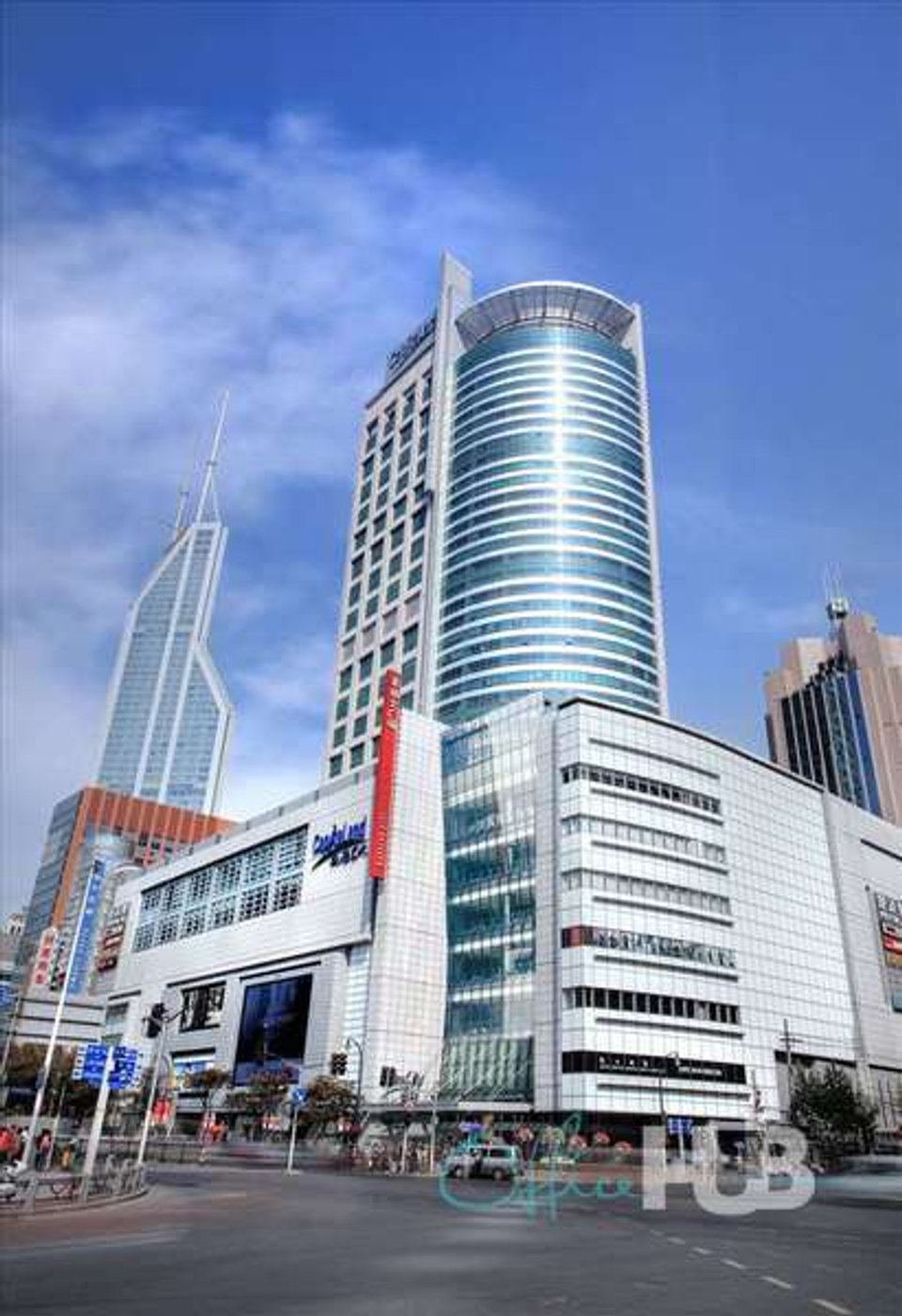 Office space for lease in Raffles City Huangpu District - image 1