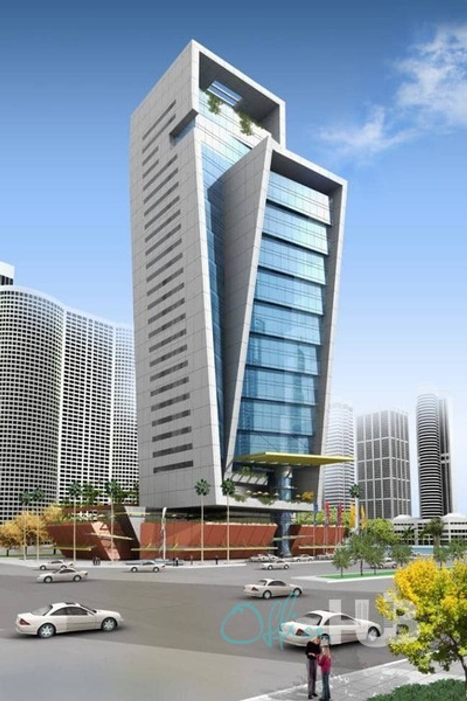 Office space for lease in The Exchange Tower Dubai - image 1