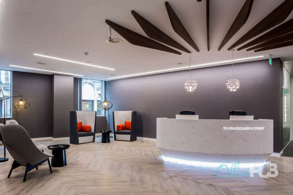 Office space for lease in 70 Gracechurch Street Langbourn - image 2