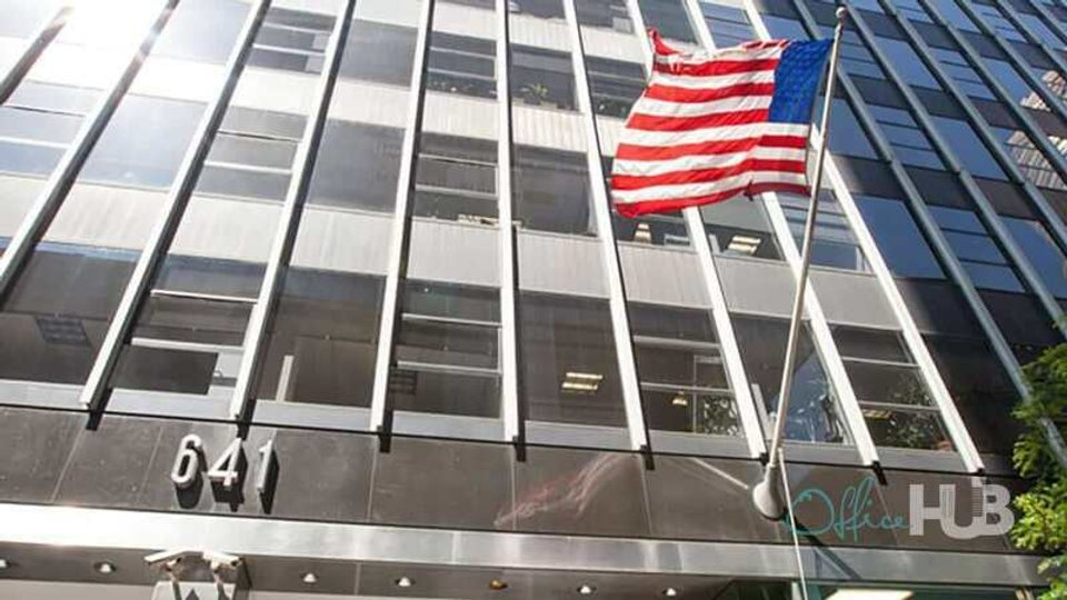 Office space for lease in 641 Lexington Avenue - Midtown East New York - image 1