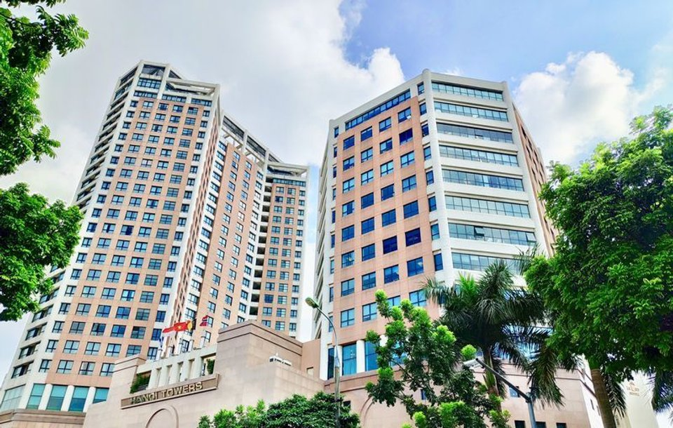 Office space for lease in Hanoi Tower Hoan Kiem District - image 1