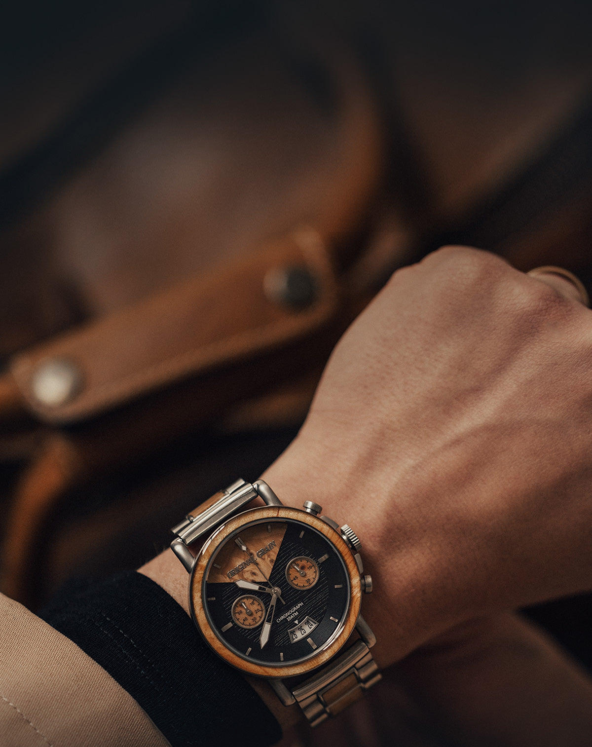 f145171c9d6f The Premier Maker of Wood   Steel Watches – Original Grain