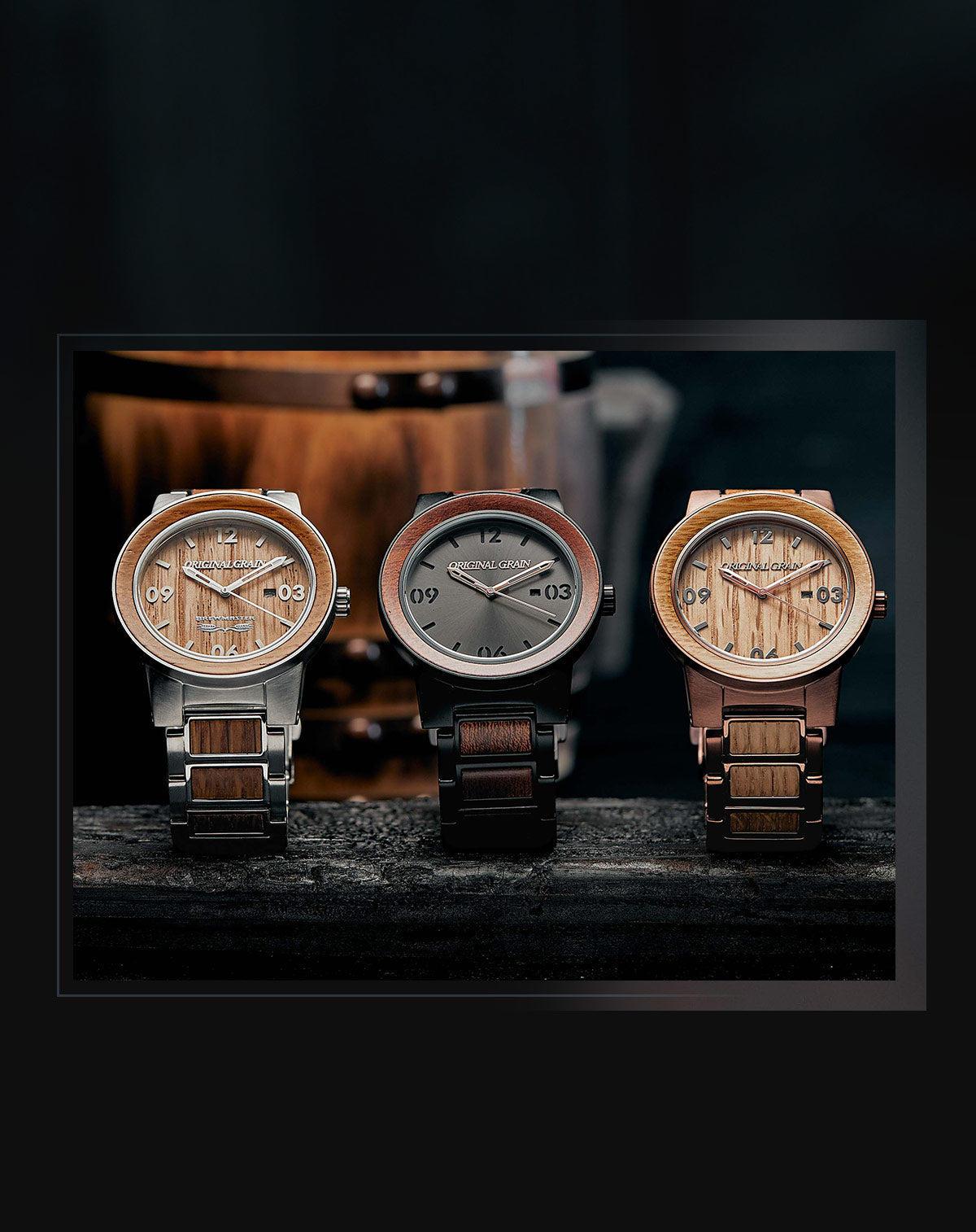 The Premier Maker of Wood & Steel Watches – Original Grain