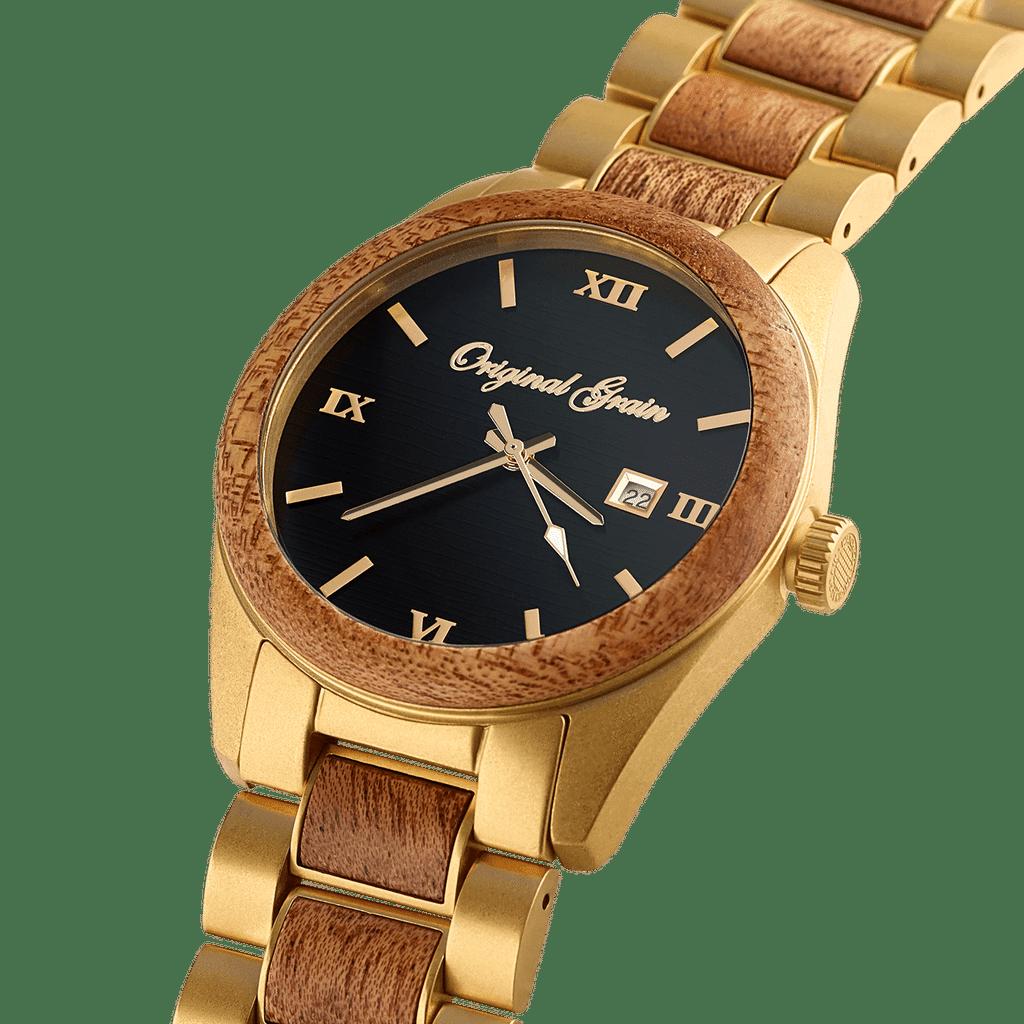 Mahogany Gold Classic 43mm by Original Grain