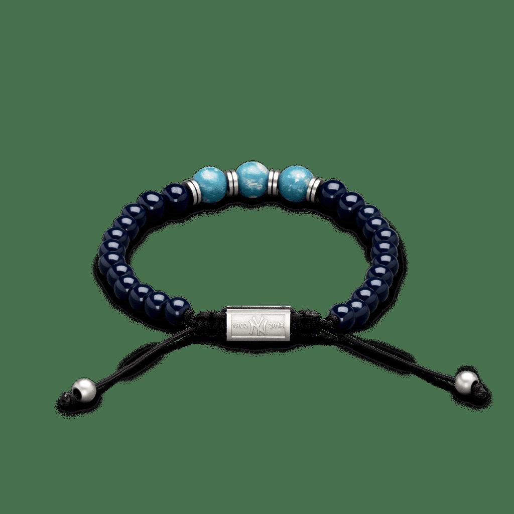 Yankees Stadium™ Reclaimed Macrame Bracelet 8mm